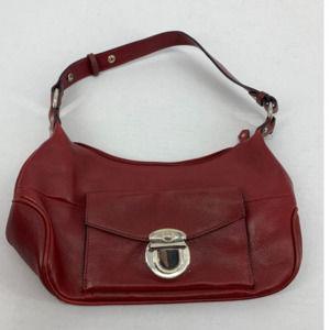 WIlson leather red shoulder bag